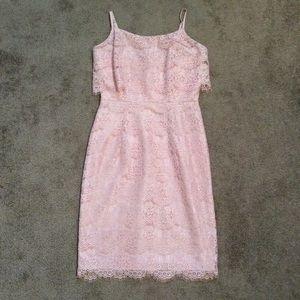 NWT Nanette Lepore Blush Lace Dress
